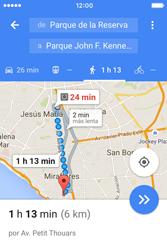 Uso de la navegación GPS - Apple iPhone 4s - Passo 19