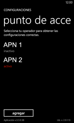 Configura el Internet - Nokia Lumia 720 - Passo 22
