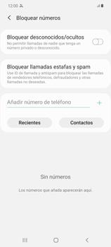 Cómo bloquear llamadas - Samsung Galaxy Note 20 - Passo 6