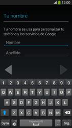 Crea una cuenta - Samsung Galaxy S4  GT - I9500 - Passo 4