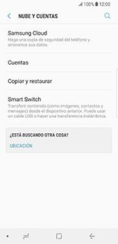 Realiza una copia de seguridad con tu cuenta - Samsung Galaxy S9 - Passo 5