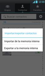 ¿Tu equipo puede copiar contactos a la SIM card? - LG Optimus L7 - Passo 6