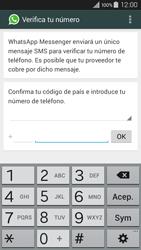 Configuración de Whatsapp - Samsung Galaxy A3 - A300M - Passo 6