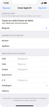 Crea una cuenta - Apple iPhone XS Max - Passo 15