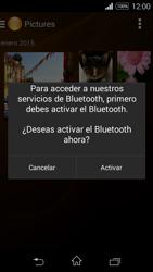 Transferir fotos vía Bluetooth - Sony Xperia E3 D2203 - Passo 13