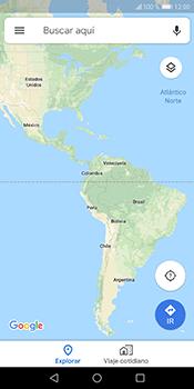 Uso de la navegación GPS - Huawei Y6 2018 - Passo 5