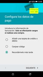 Crea una cuenta - HTC Desire 626s - Passo 17