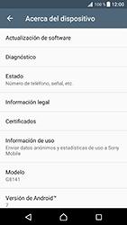 Actualiza el software del equipo - Sony Xperia XZ Premium - Passo 6