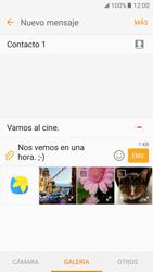 Envía fotos, videos y audio por mensaje de texto - Samsung Galaxy S7 - G930 - Passo 17