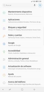 Desactivar la sincronización automática - Samsung Galaxy S9 Plus - Passo 4