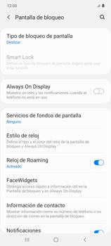 Cómo activar Always on Display - Samsung Galaxy S10 Lite - Passo 5