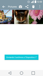 Transferir fotos vía Bluetooth - LG C50 - Passo 11
