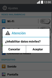 Desactiva tu conexión de datos - LG L40 - Passo 4