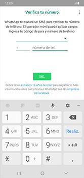 Configuración de Whatsapp - Samsung Galaxy A10 - Passo 5