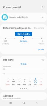 Cómo habilitar el Ambiente de Niños - Samsung Galaxy S20 - Passo 13