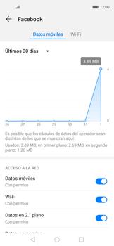 Verificar el uso de datos por apps - Huawei Nova 5T - Passo 5