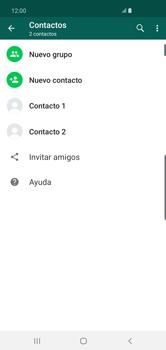 Usar WhatsApp - Samsung S10+ - Passo 4