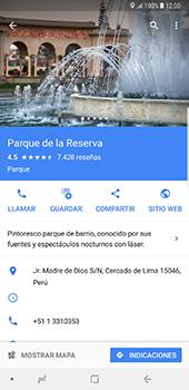 Uso de la navegación GPS - Samsung Galaxy Note 8 - Passo 10
