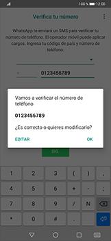Configuración de Whatsapp - Huawei P30 Pro - Passo 6