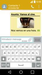 Envía fotos, videos y audio por mensaje de texto - LG C50 - Passo 18