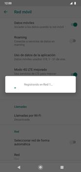 Cómo seleccionar una red en su teléfono manualmente - Motorola Moto G8 Play (Single SIM) - Passo 10