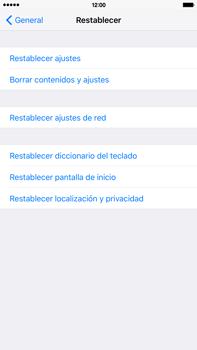 Restaura la configuración de fábrica - Apple iPhone 6 Plus - Passo 5
