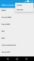 Configura el Internet - Sony Xperia M4 Aqua E2303 - Passo 16