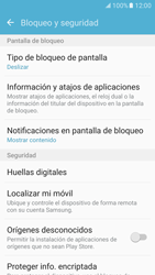 Desbloqueo del equipo por medio del patrón - Samsung Galaxy S7 - G930 - Passo 5