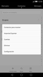 ¿Tu equipo puede copiar contactos a la SIM card? - Huawei Ascend Mate 7 - Passo 5