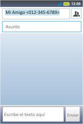 Envía fotos, videos y audio por mensaje de texto - Motorola MotoSmart Me  XT303 - Passo 9