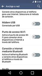 Configura el hotspot móvil - LG K4 - Passo 5