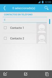 ¿Tu equipo puede copiar contactos a la SIM card? - Motorola RAZR D1 XT914 - Passo 8