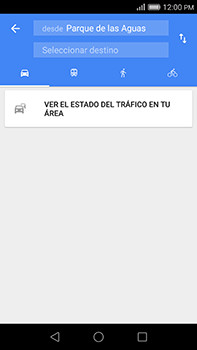 Uso de la navegación GPS - Huawei G8 Rio - Passo 14