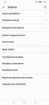 Actualiza el software del equipo - Huawei Y7 2019 - Passo 5