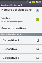 Conecta con otro dispositivo Bluetooth - Motorola MotoSmart Me  XT303 - Passo 7