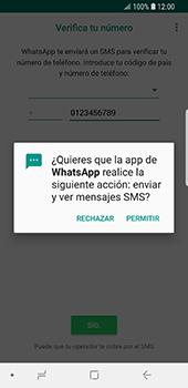 Configuración de Whatsapp - Samsung Galaxy S9 - Passo 11