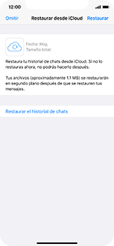 Configuración de Whatsapp - Apple iPhone 11 Pro - Passo 10
