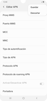 Configura el Internet - Samsung Galaxy A50 - Passo 16