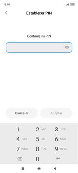 Habilitar seguridad de huella digital - Xiaomi Redmi Note 9 Pro - Passo 9