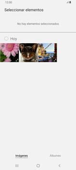 Envía fotos, videos y audio por mensaje de texto - Samsung Galaxy A80 - Passo 17