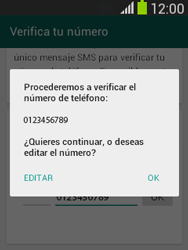 Configuración de Whatsapp - Samsung Galaxy Pocket Neo - S5310L - Passo 6