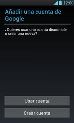 Crea una cuenta - LG Optimus L7 - Passo 3