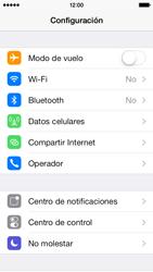 Configura el WiFi - Apple iPhone 5c - Passo 3
