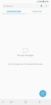 Envía fotos, videos y audio por mensaje de texto - Samsung A7 2018 - Passo 3