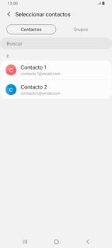 Cómo enviar un correo electrónico - Samsung Galaxy A80 - Passo 8