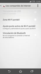 Configura el hotspot móvil - Sony Xperia Z2 D6503 - Passo 12