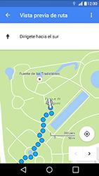 Uso de la navegación GPS - LG K10 - Passo 20