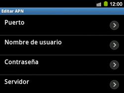 Configura el Internet - Samsung Galaxy Y Pro GT - B5510 - Passo 11