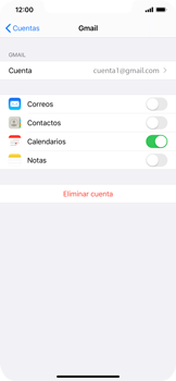 Desactivar la sincronización automática - Apple iPhone 11 - Passo 7