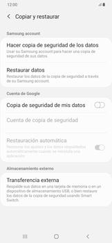 Realiza una copia de seguridad con tu cuenta - Samsung Galaxy A50 - Passo 6